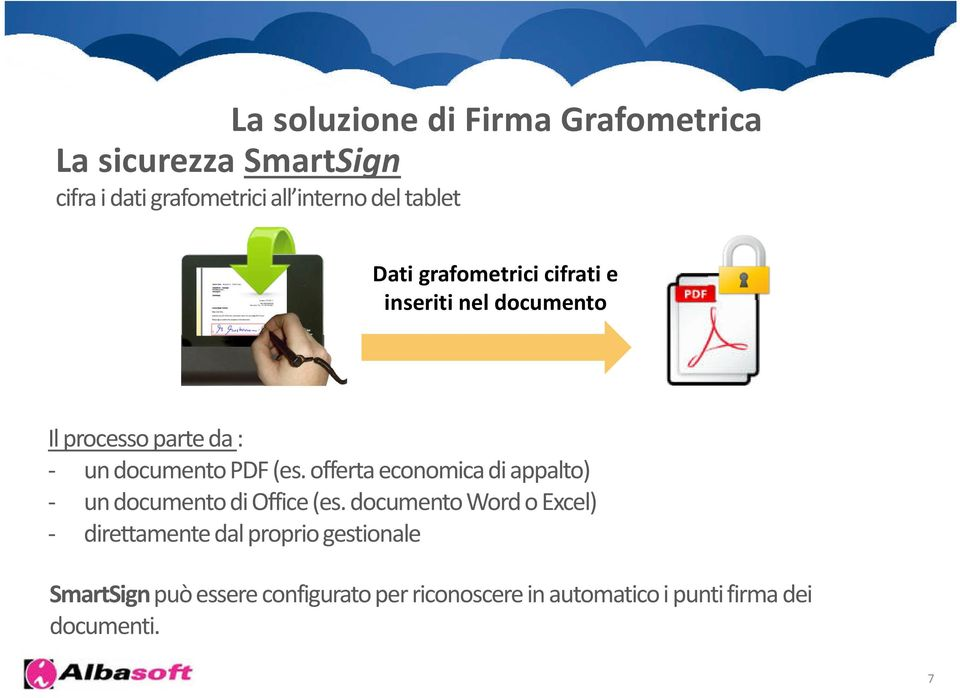 PDF (es. offerta economica di appalto) - un documento di Office (es.