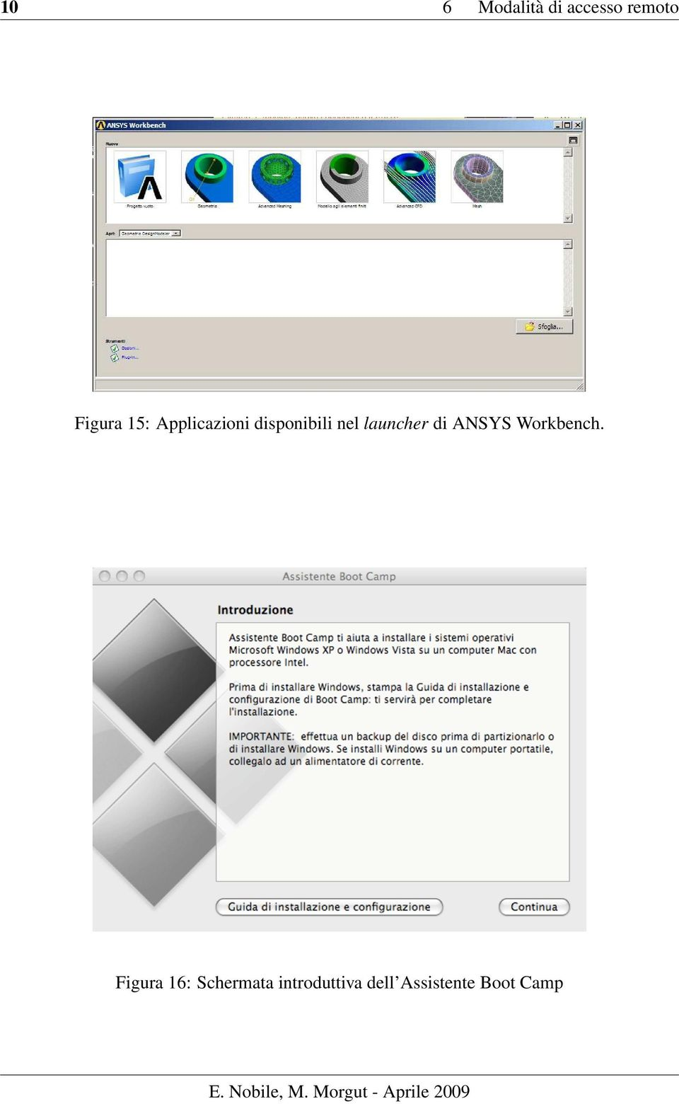 launcher di ANSYS Workbench.