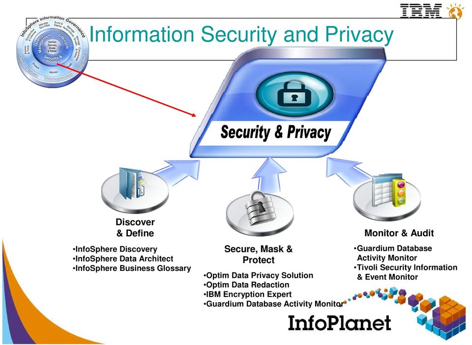Data Privacy Solution Optim Data Redaction IBM Encryption Expert Guardium Database