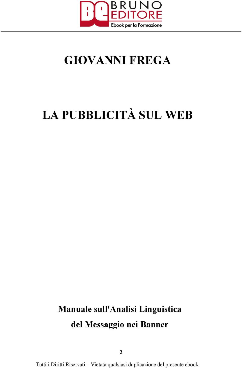 Manuale sull'analisi
