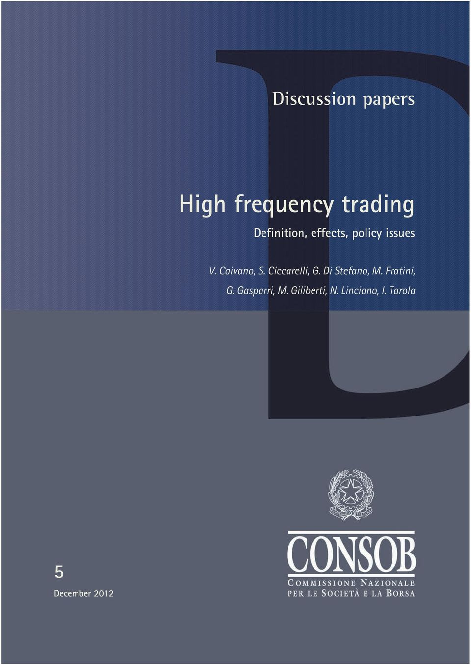 Design high frequency trading system