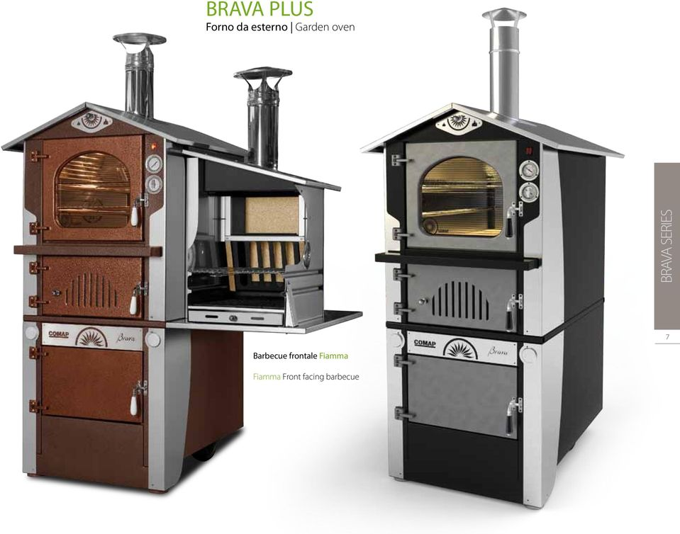 oven Barbecue frontale