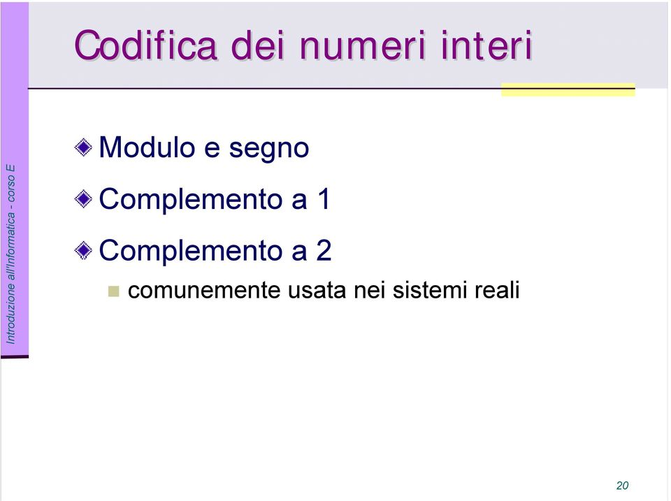 a 1 Complemento a 2
