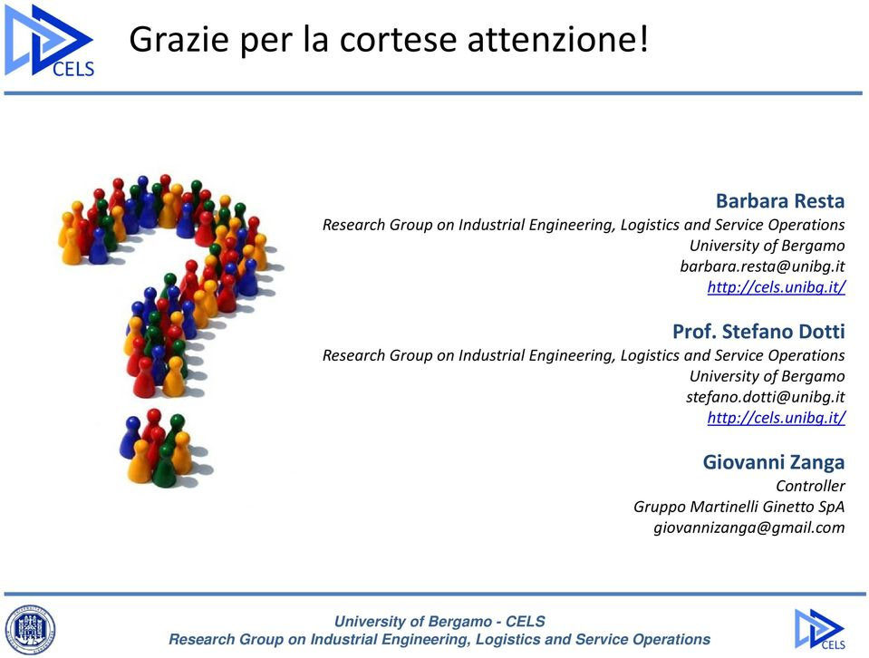 unibg.it/ Prof. Stefano Dotti University of Bergamo stefano.