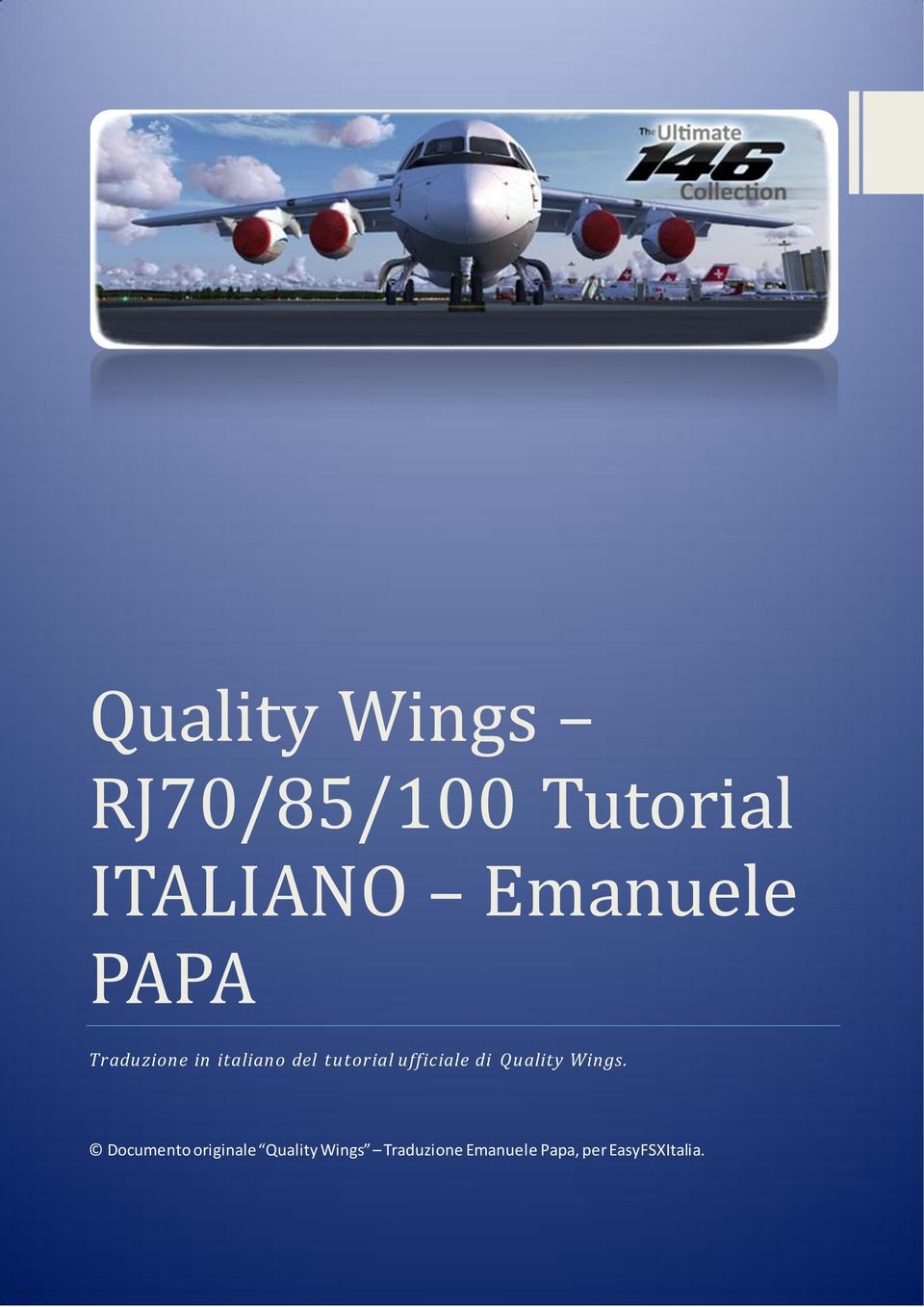 ufficiale di Quality Wings.