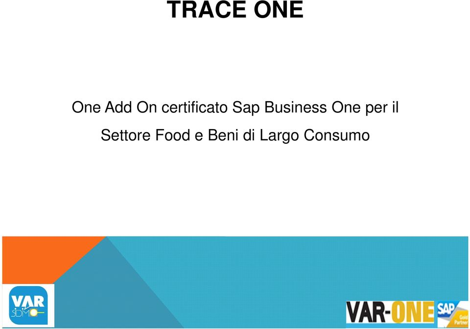 Business One per il