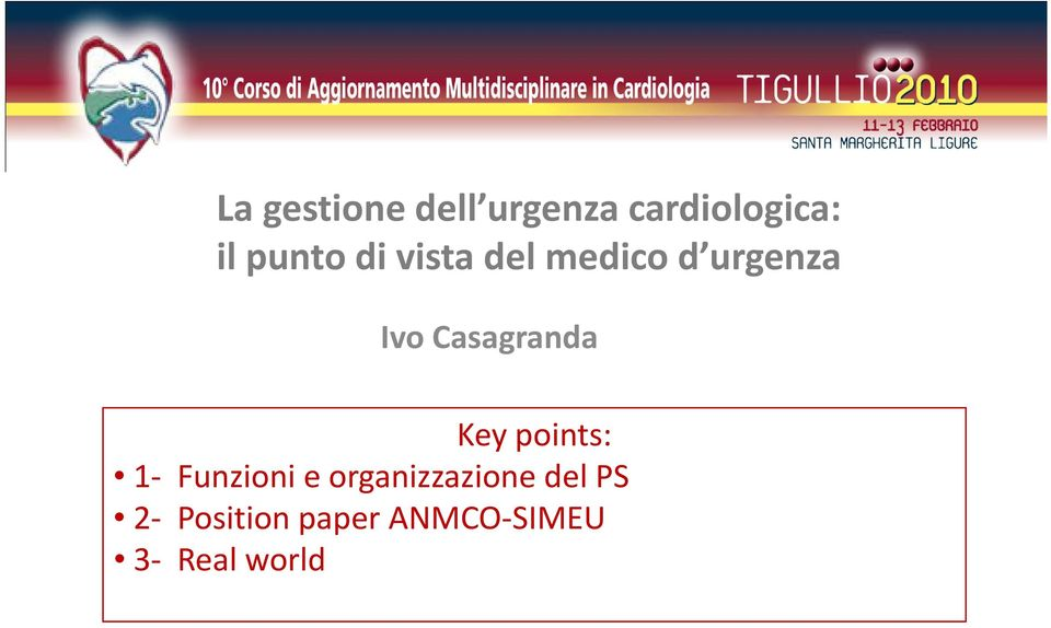 Casagranda Key points: 1 Funzioni e