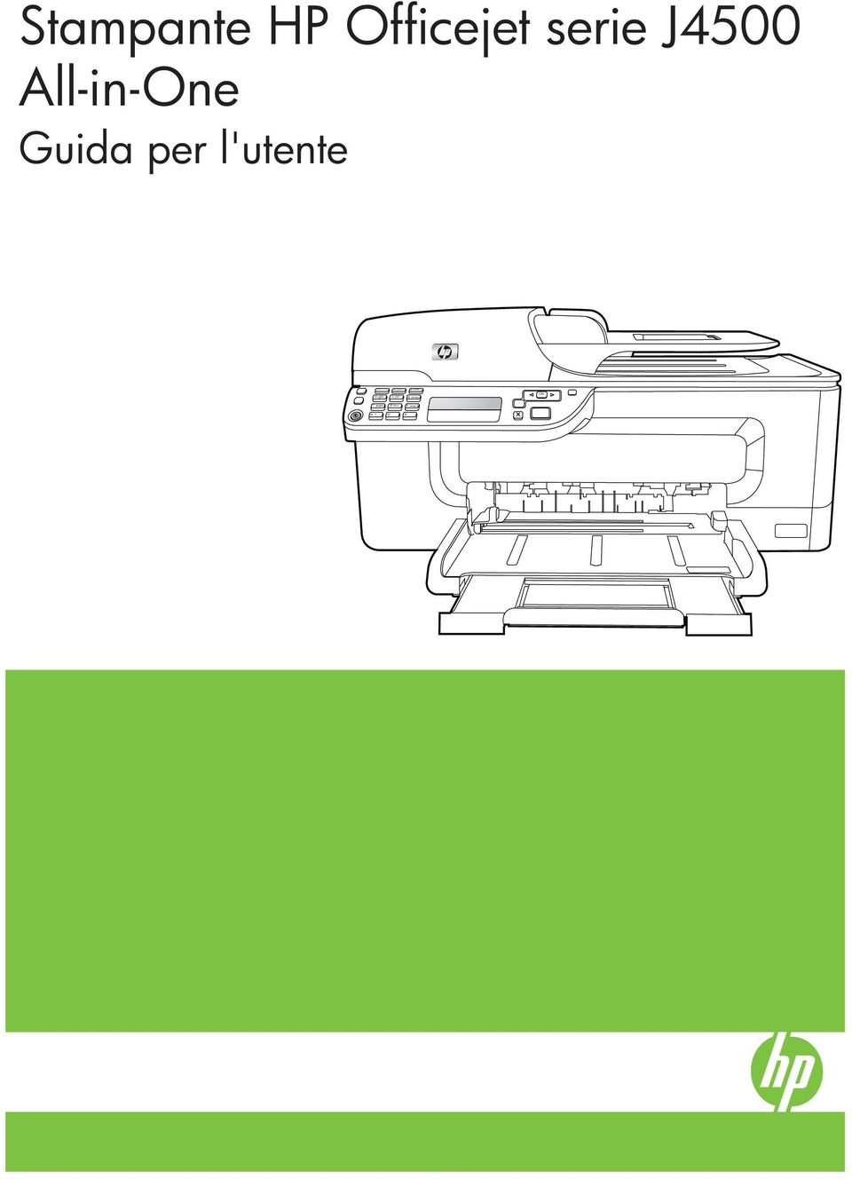 Stampante HP Officejet serie J4500