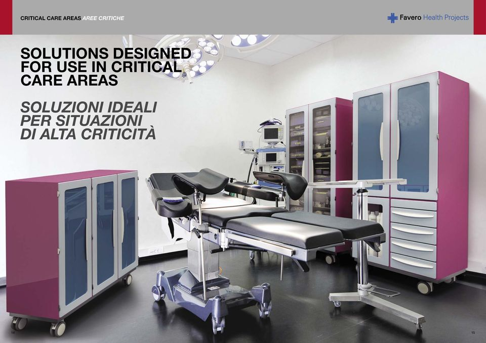 CRITICAL CARE AREAS SOLUZIONI