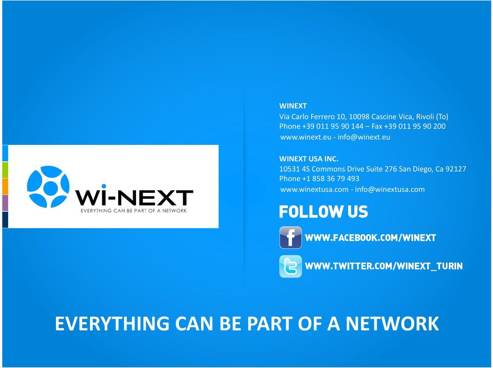 eu WINEXT USA INC.
