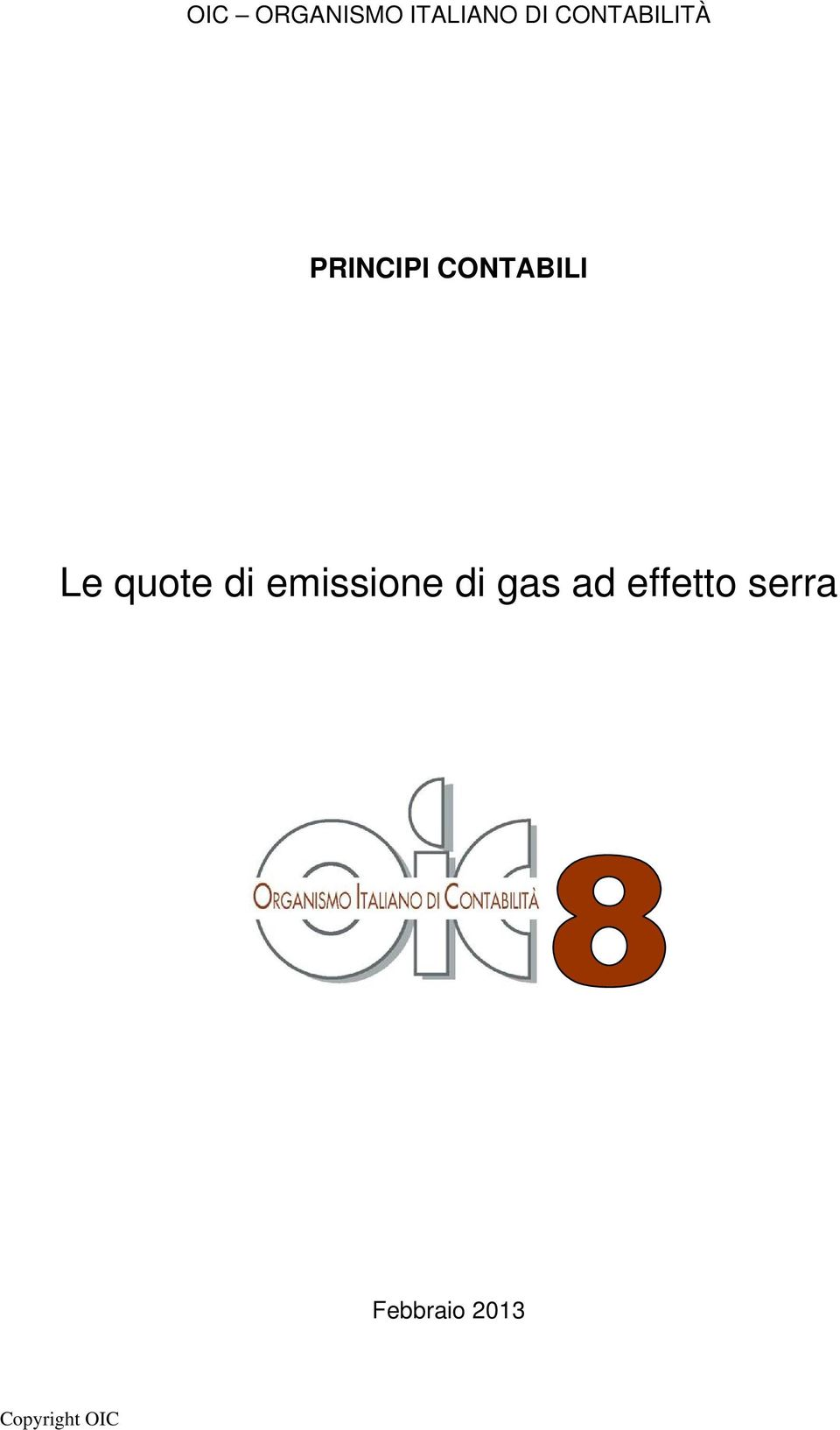 Le quote di emissione di gas ad