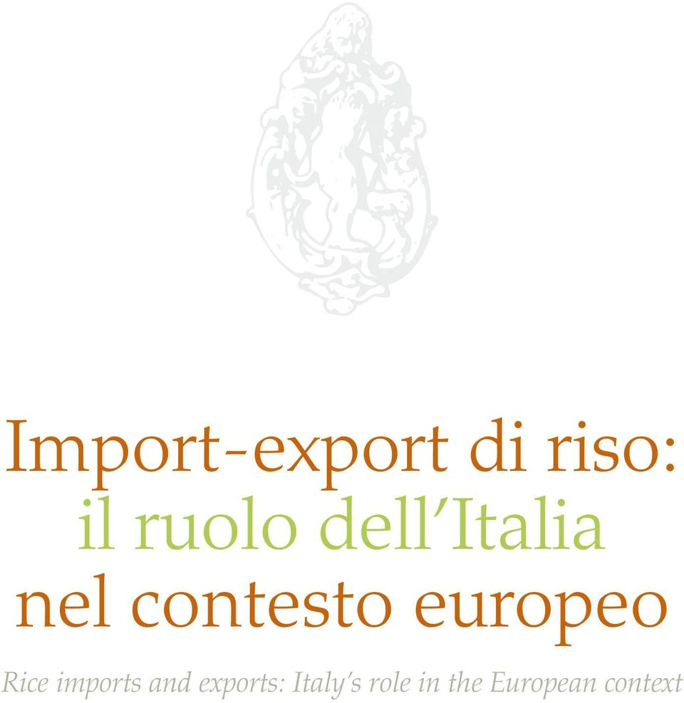 europeo Rice imports and