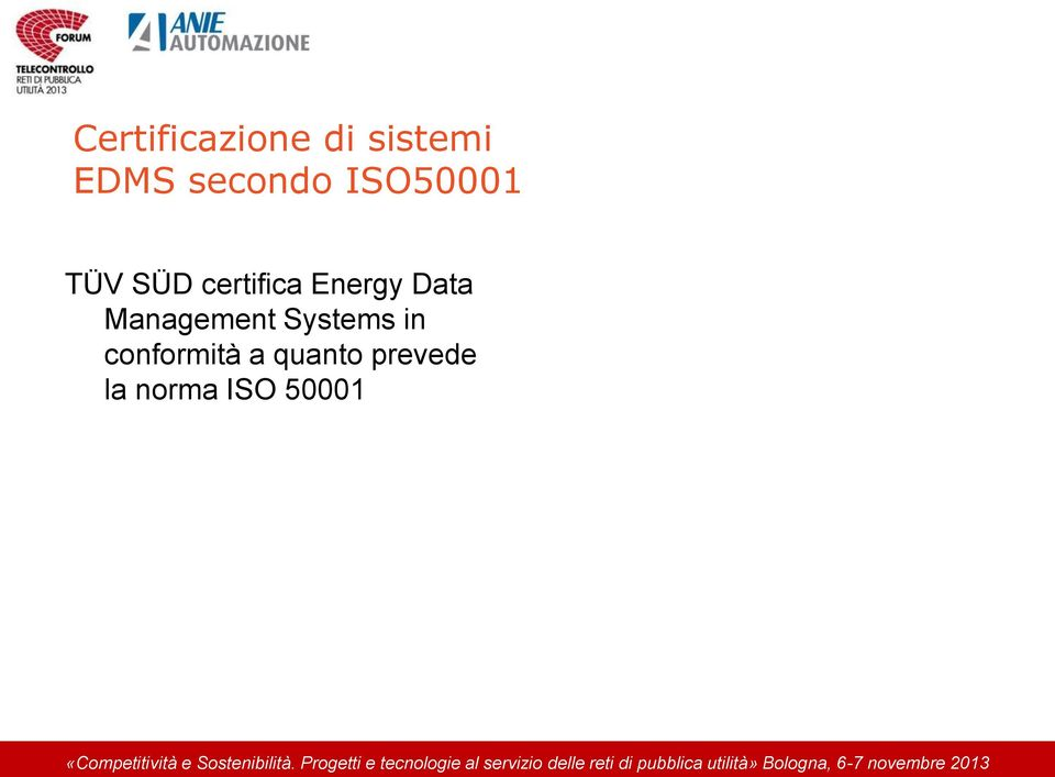 Energy Data Management Systems in