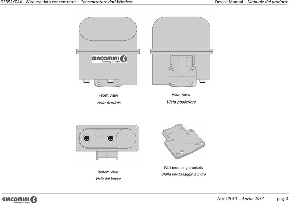Wireless Device Manual Manuale