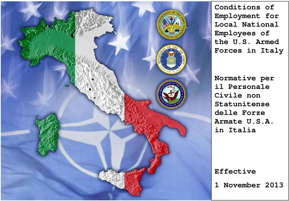 Armed Forces in Italy Normative per il Personale