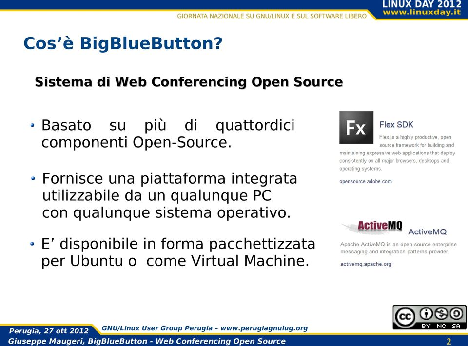 componenti Open-Source.