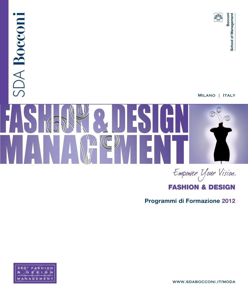 Fashion design programmi di formazione pdf for Programmi design