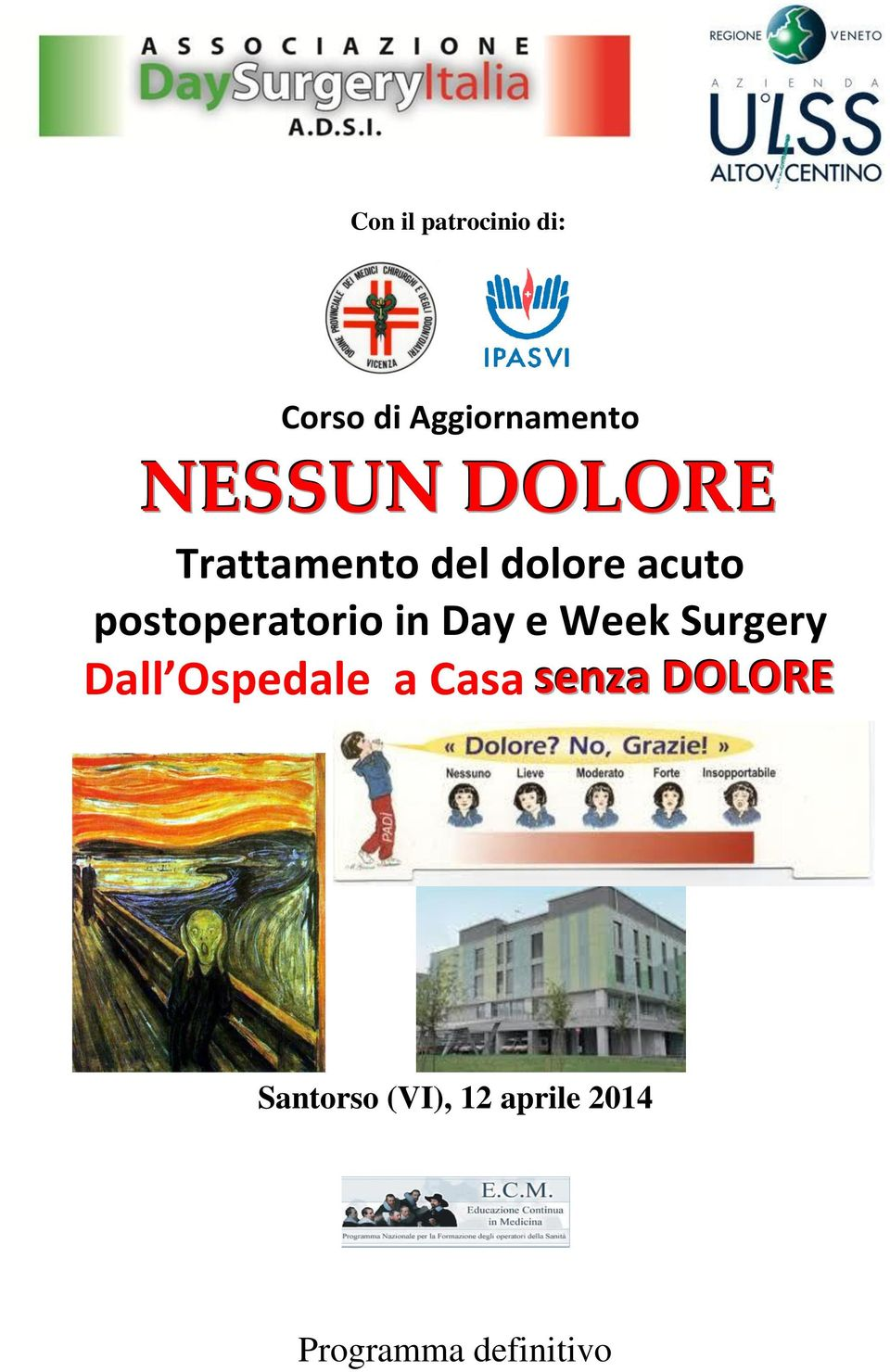 in Day e Week Surgery Dall Ospedale a Casa senza