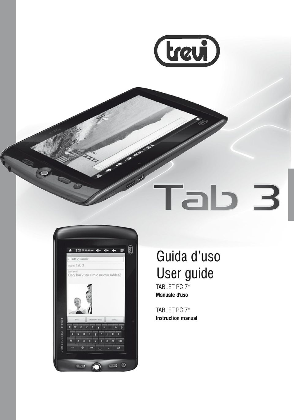 Manuale d'uso TABLET