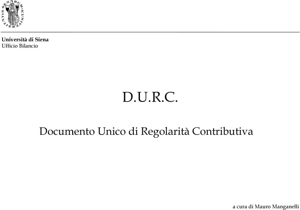 Documento Unico di