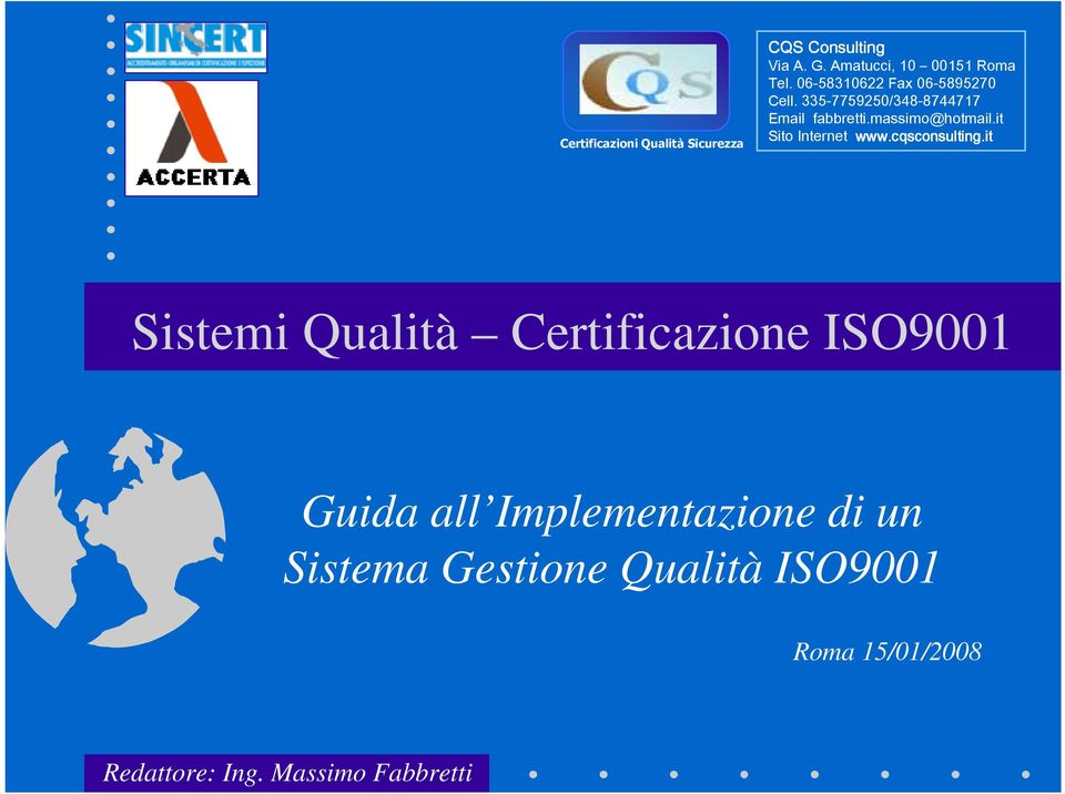 it Sito Internet www.cqsconsulting.