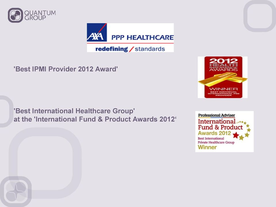 Healthcare Group' at the