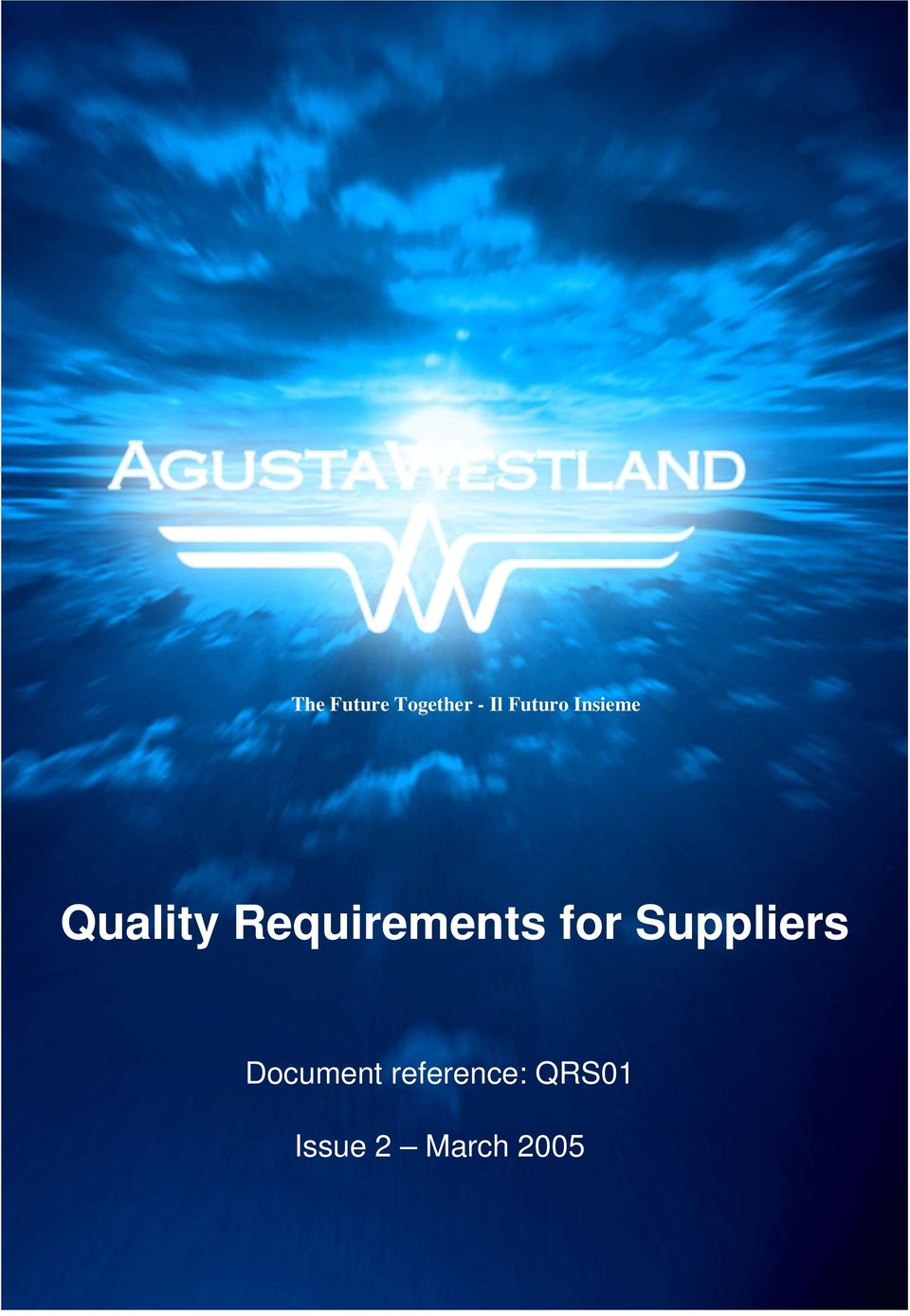 Requirements for Suppliers