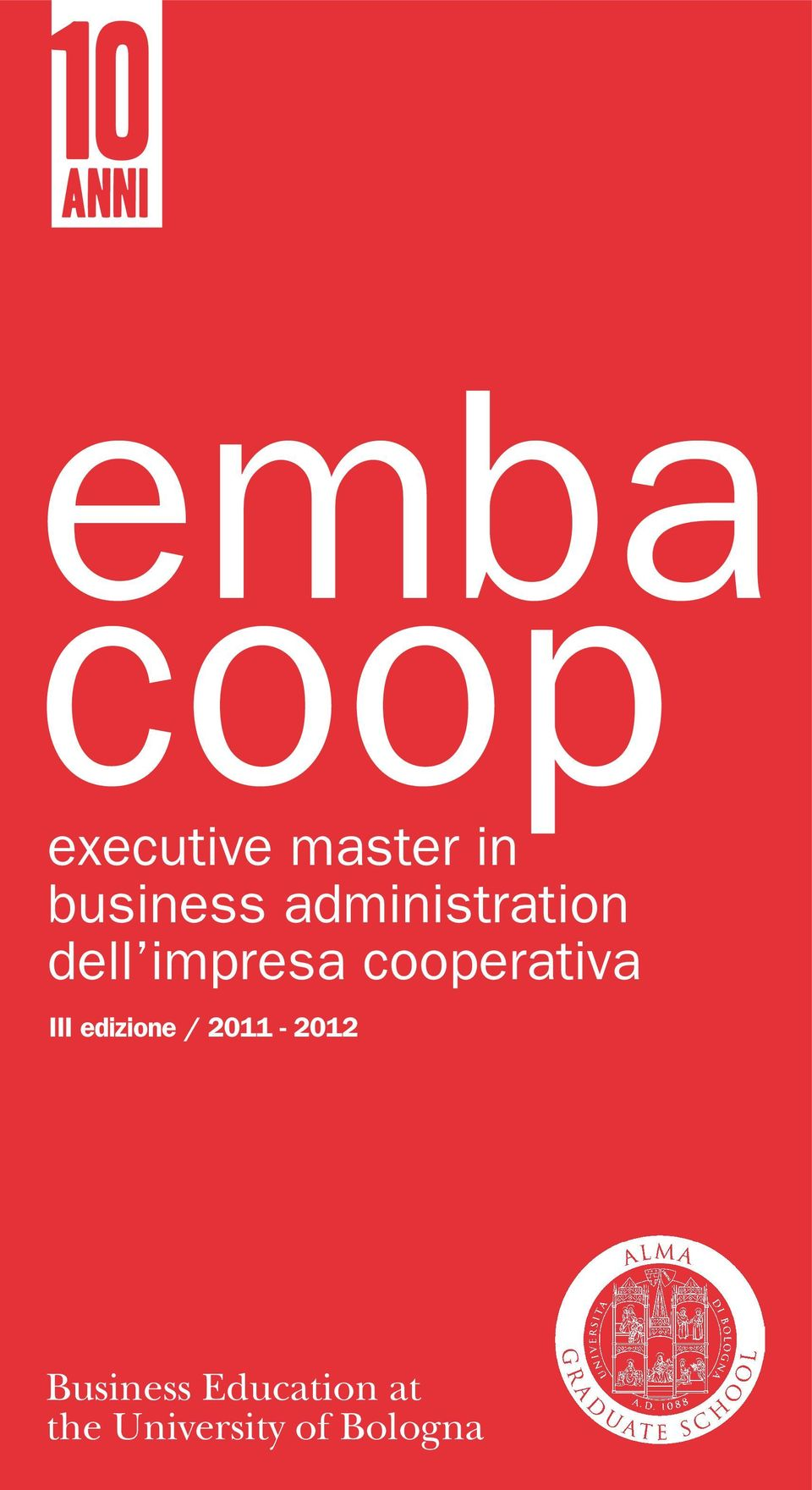 Business Education at the University of Bologna