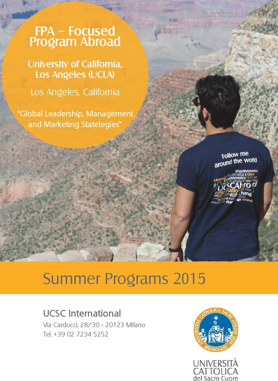 Management and Marketing Statetegies Summer Programs 2015