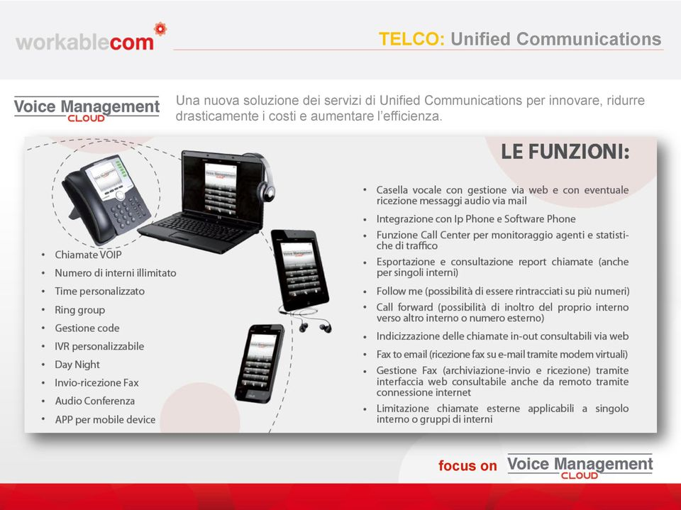 Communications per innovare, ridurre