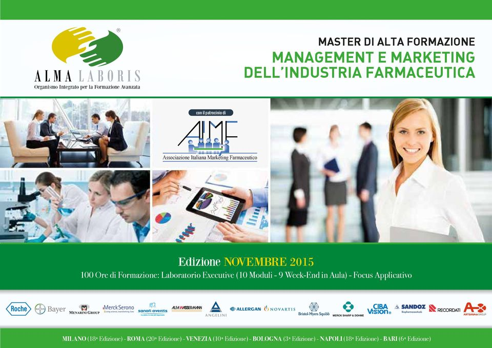 di Formazione: Laboratorio Executive (10 Moduli - 9 Week-End in Aula) - Focus Applicativo MILANO (18ª Edizione)