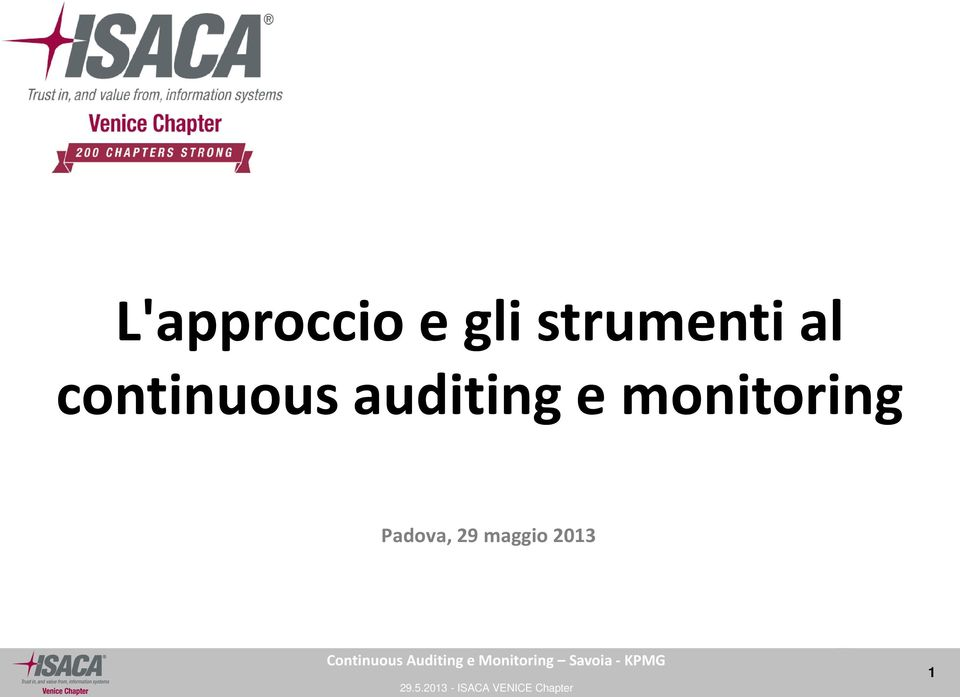 continuous auditing e