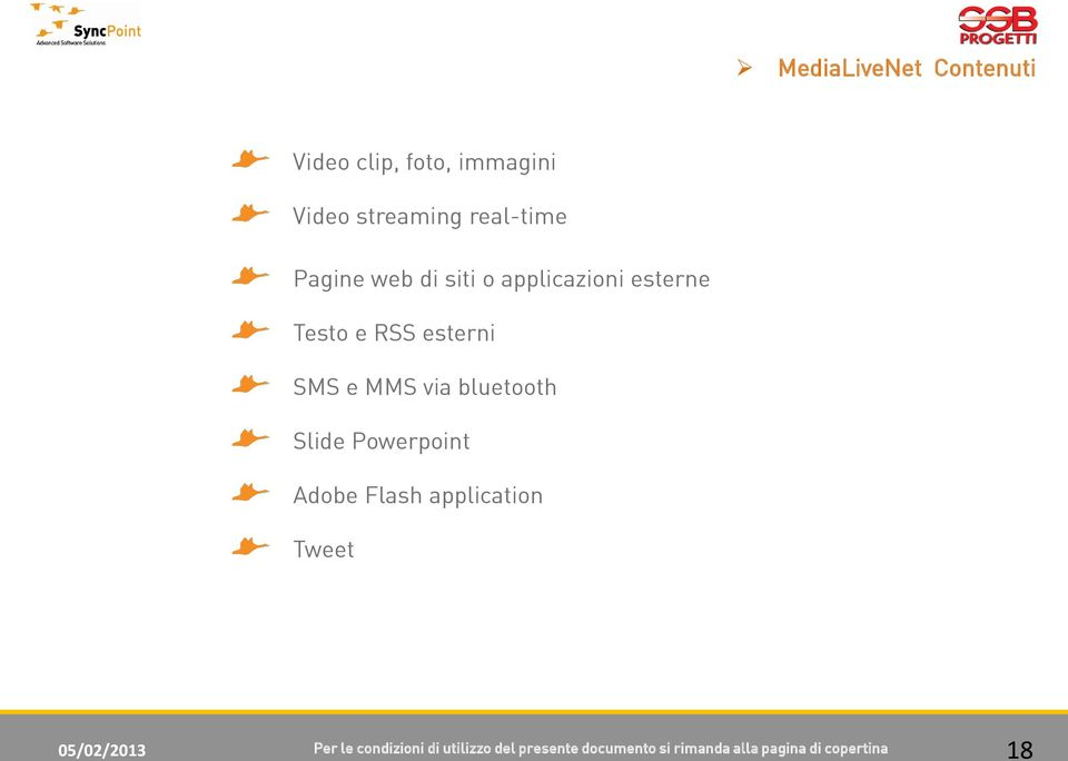 bluetooth Slide Powerpoint Adobe Flash application Tweet 05/02/2013 Per le