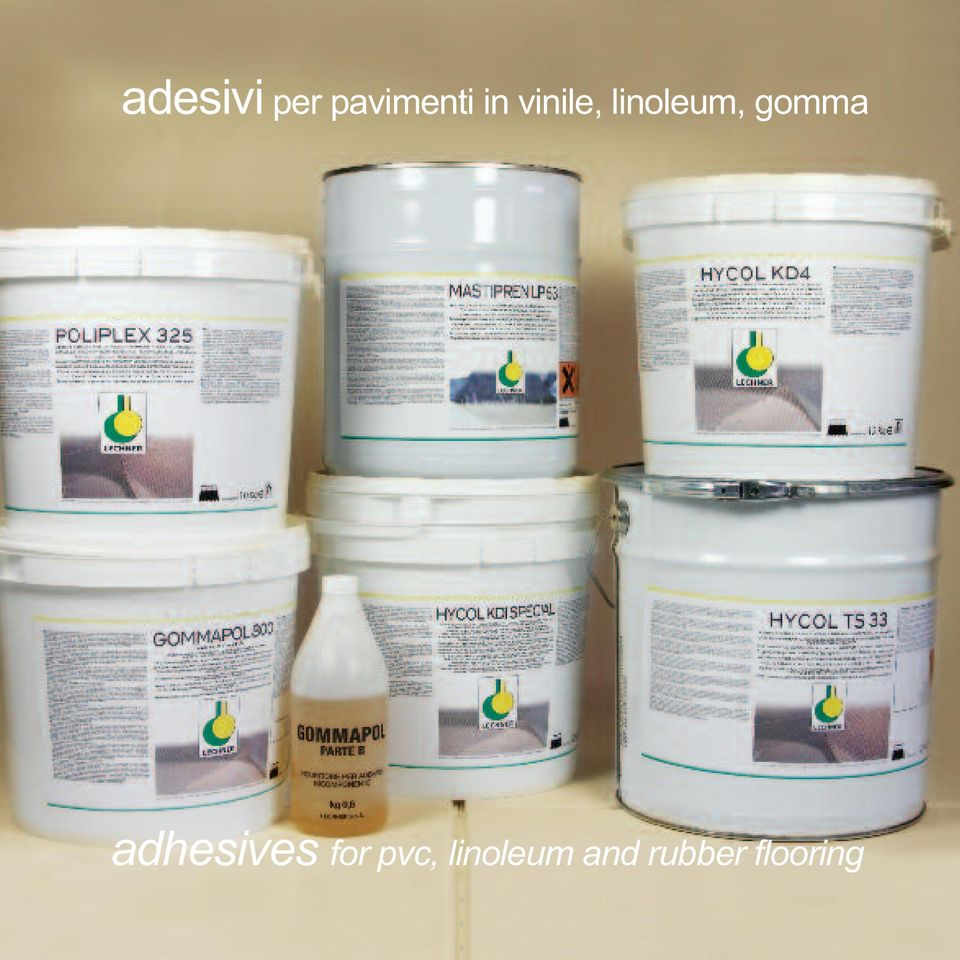 gomma adhesives for