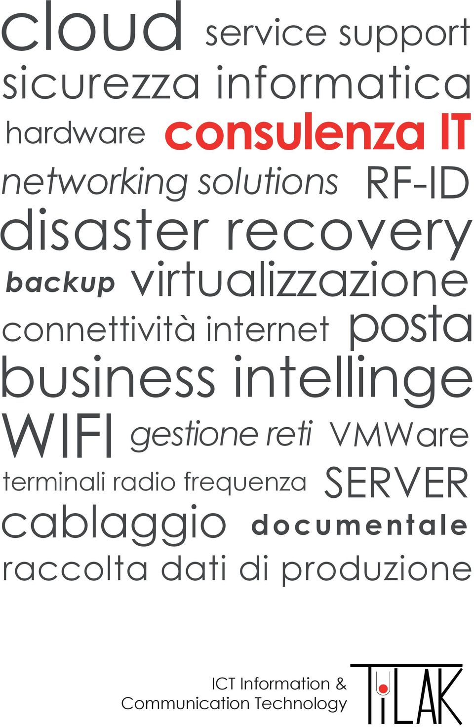 posta business intellinge WIFI gestione reti terminali radio frequenza