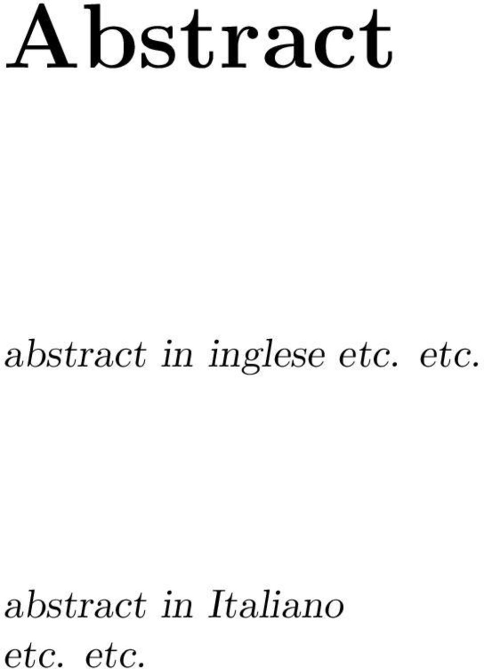 etc. abstract in
