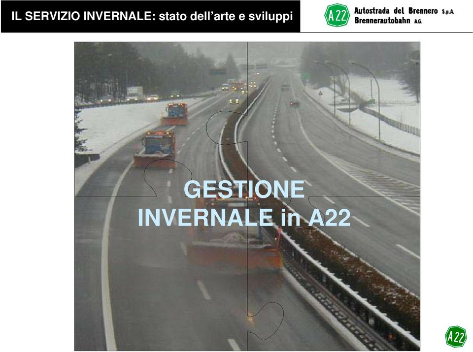 GESTIONALI GESTIONE INVERNALE in A22