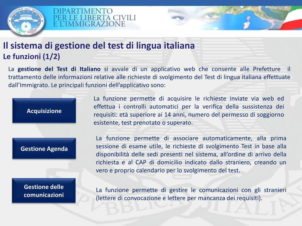 Awesome Test Lingua Italiana Per Carta Di Soggiorno Gallery - House ...