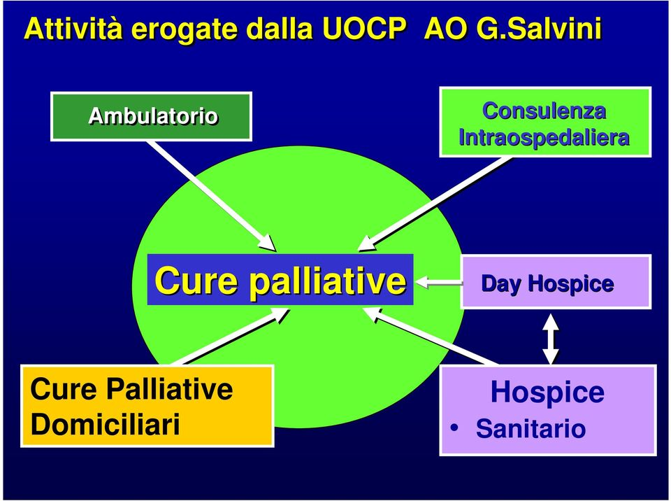Intraospedaliera Cure palliative Day