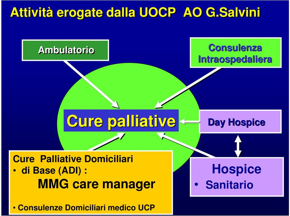 palliative Day Hospice Cure Palliative Domiciliari di