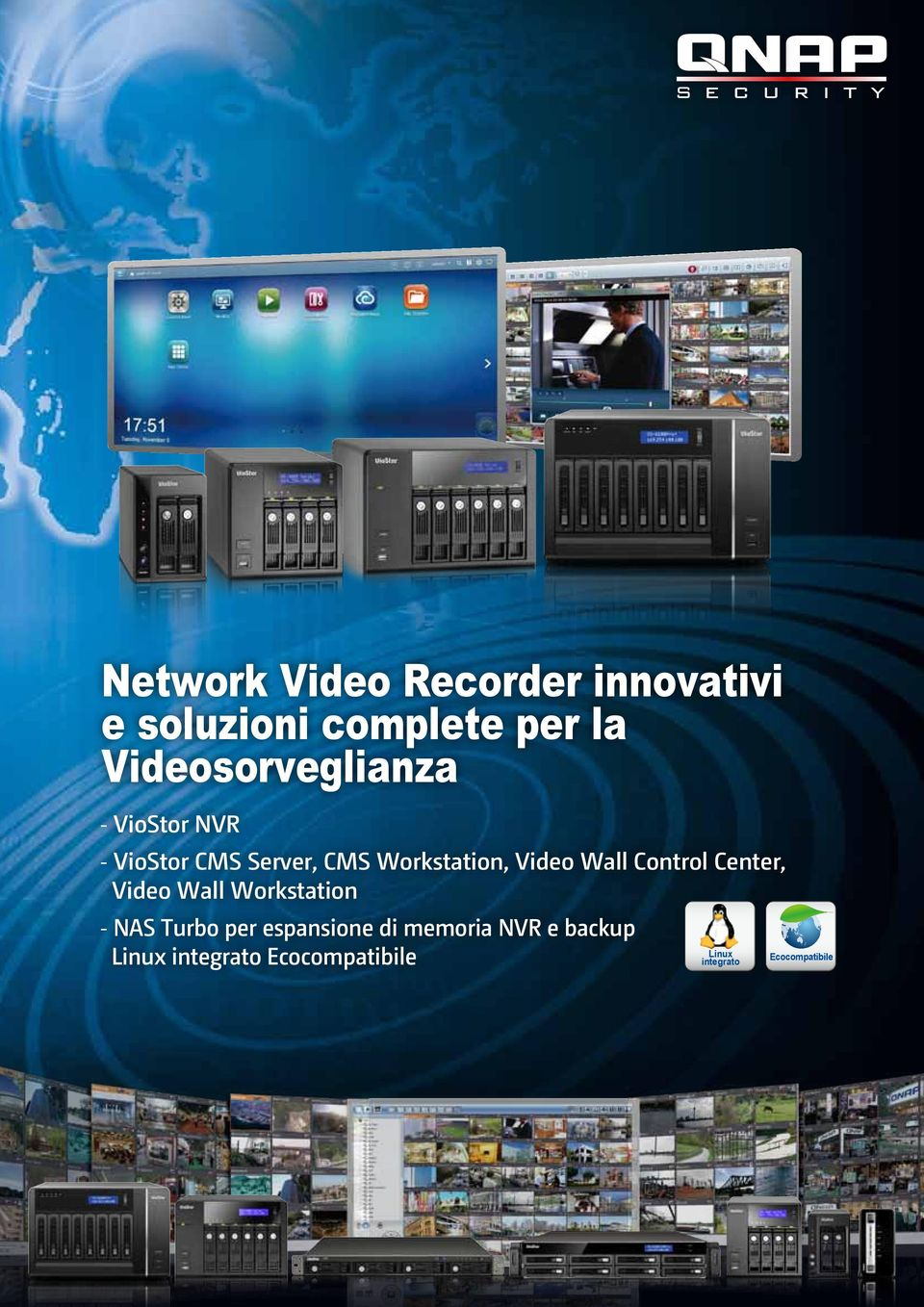Video Wall Control Center, Video Wall Workstation -NAS Turbo per