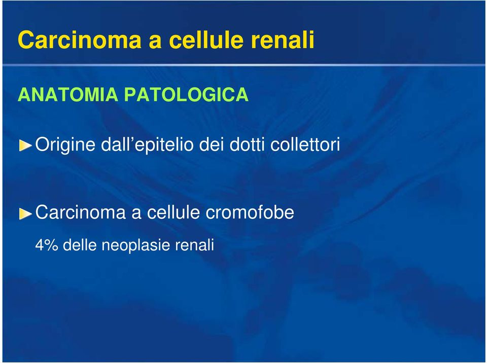 collettori Carcinoma a