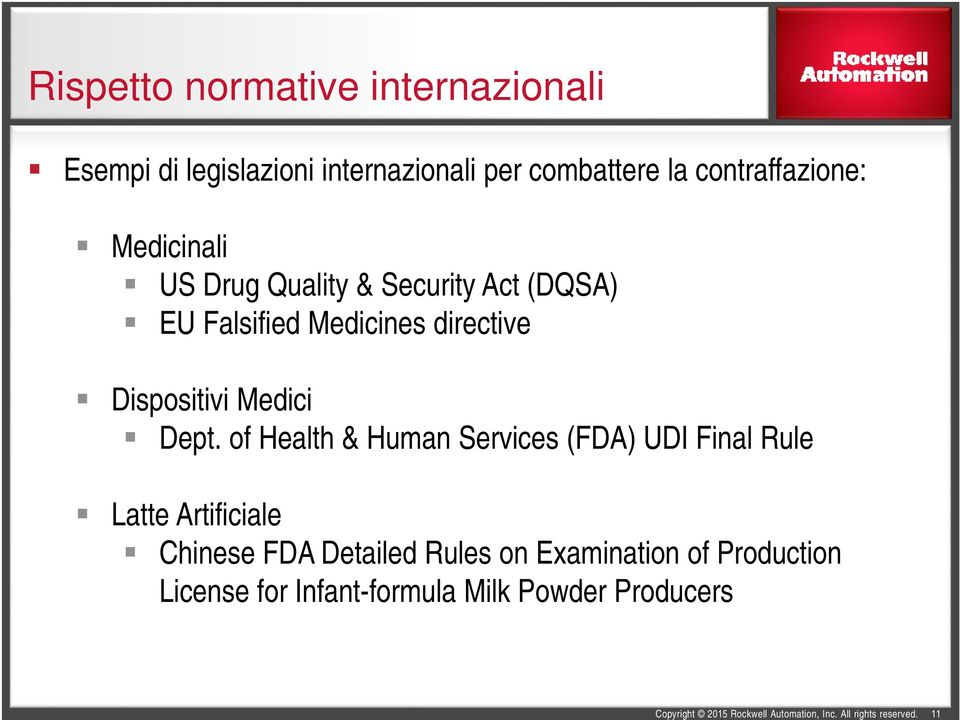 directive Dispositivi Medici Dept.