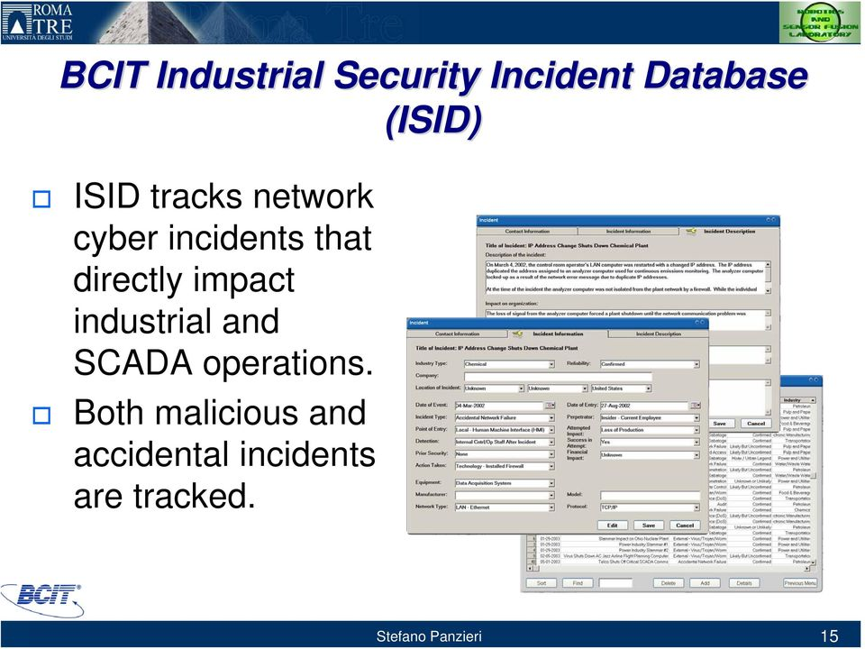 impact industrial and SCADA operations.