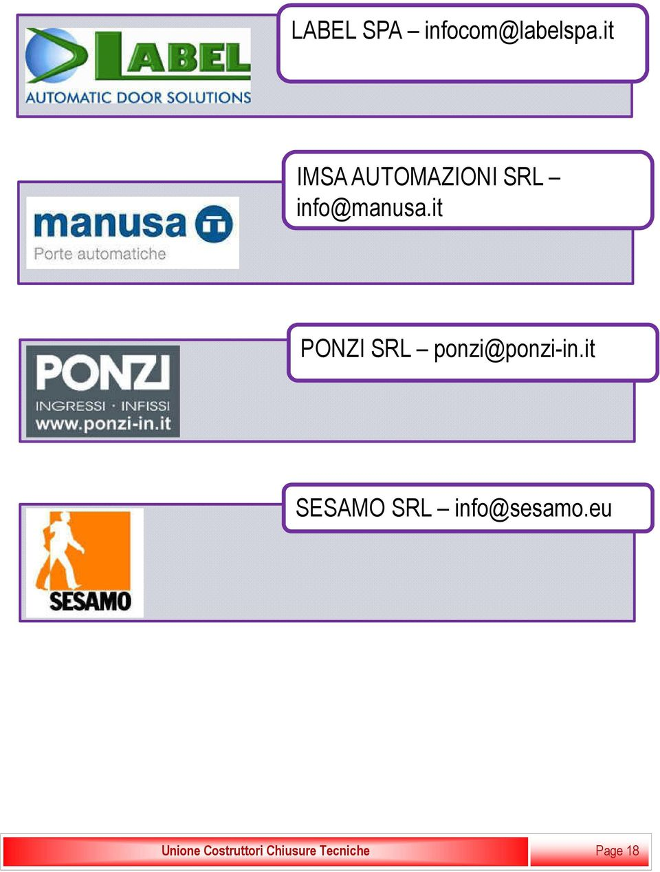 it PONZI SRL ponzi@ponzi-in.