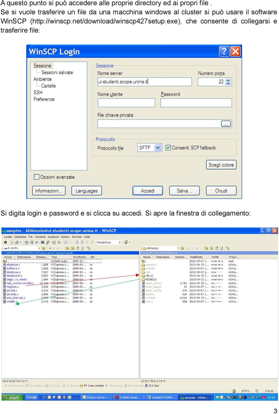 software WinSCP (http://winscp.net/download/winscp427setup.