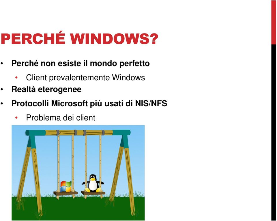 Client prevalentemente Windows Realtà