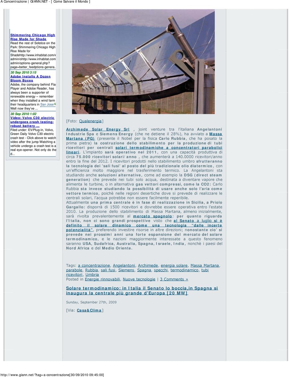 . 30 Sep 2010 3:15 Adobe Installs A Dozen Bloom Boxes Adobe, the company behind Flas Player and Adobe Reader, has always been a supporter of renewable energy remember when they installed a wind farm