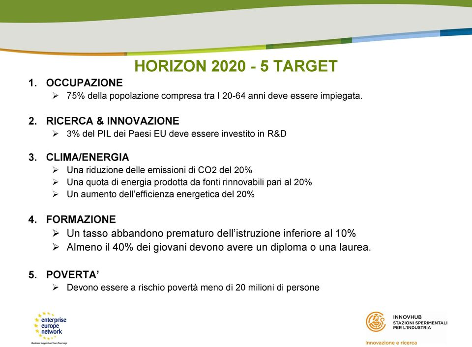efficienza energetica del 20% 4.
