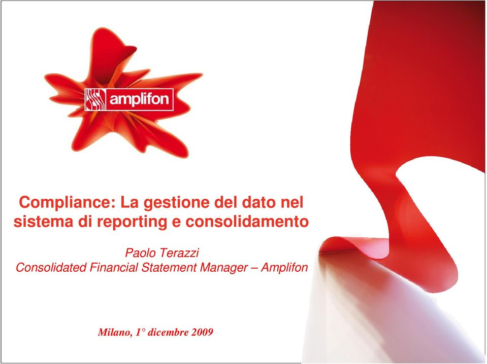 Paolo Terazzi Consolidated Financial